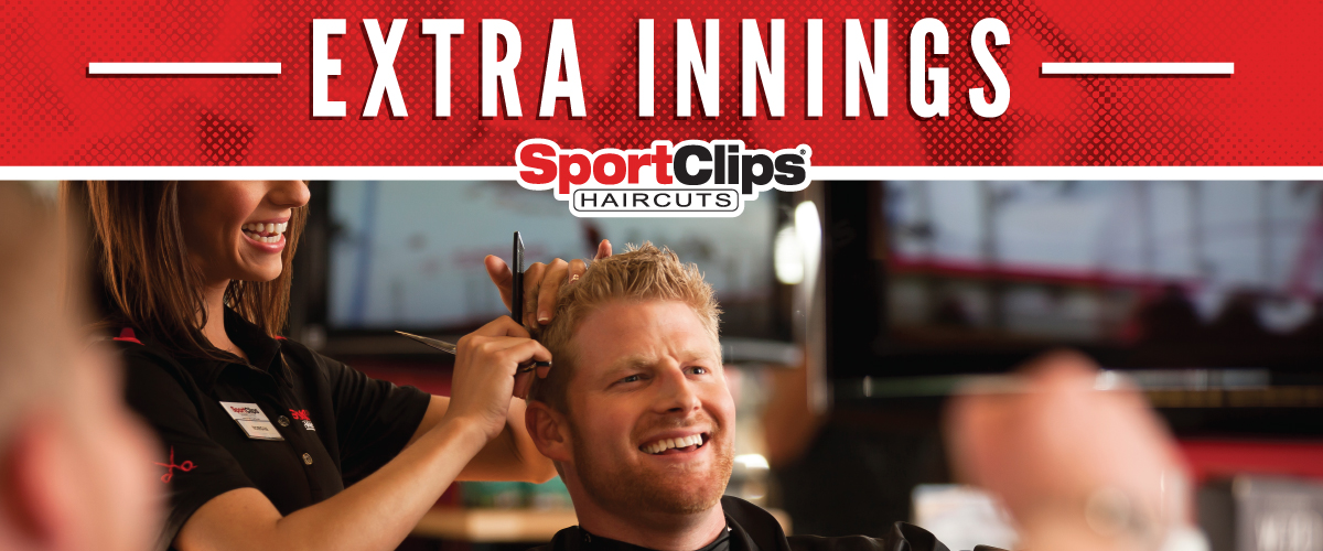 The Sport Clips Haircuts of Longview Extra Innings Offerings
