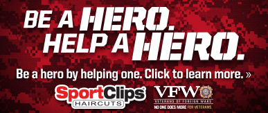 Sport Clips Haircuts of Longview​ Help a Hero Campaign